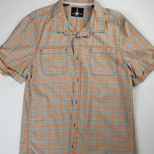 Mens I Jeans By Buffalo Button Down Short Sleeve